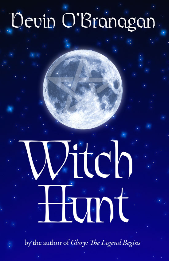 Alt. cover design Witch Hunt