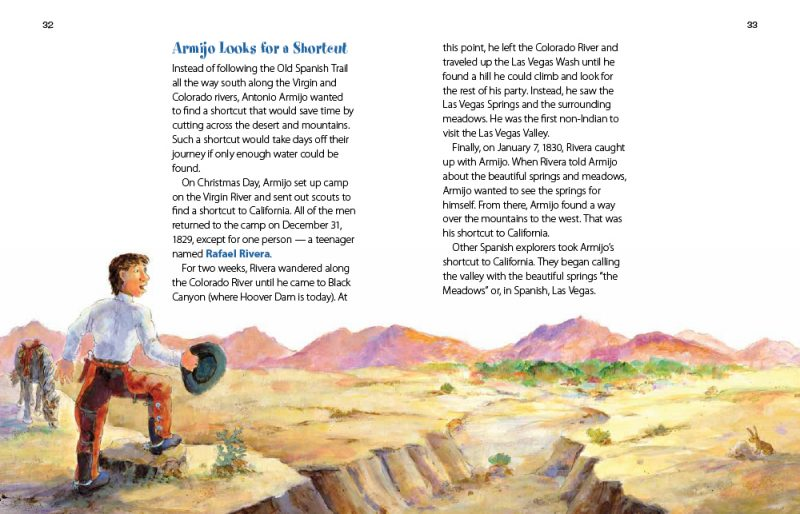 Springs in the Desert - pages 32-33