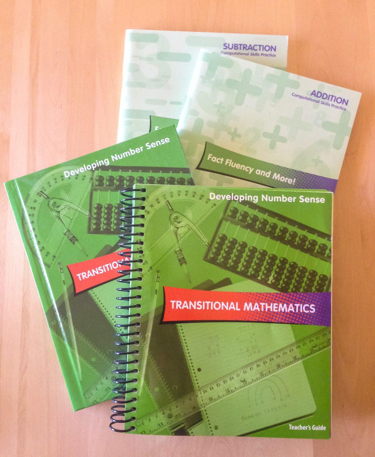 Transitional Mathematics covers
