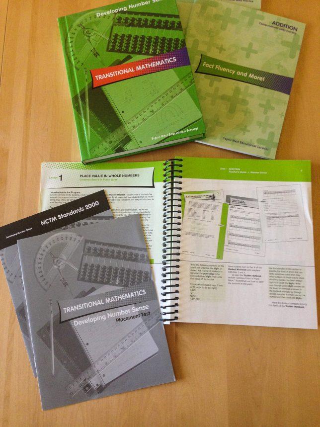 Transitional Mathematics pages