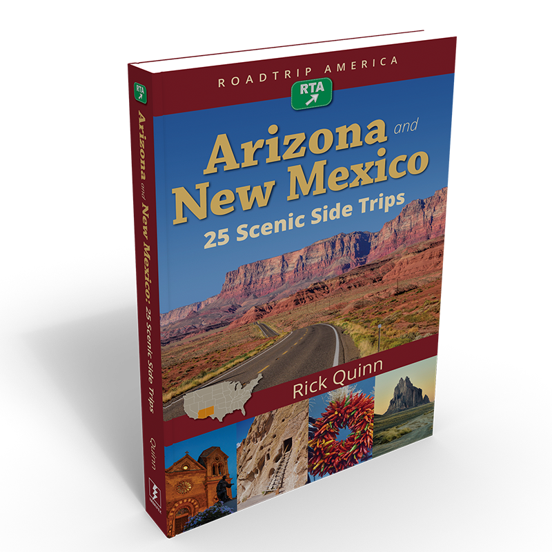 Arizona And New Mexico: 25 Scenic Side Trips book cover